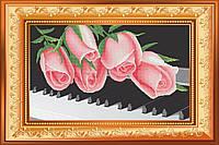 """Схема для полной вышивки бисером """"Рози на роялі"""""""