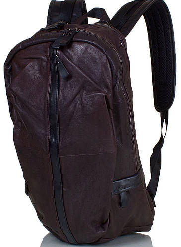 Удобный мужской рюкзак из натуральной кожи 20л ETERNO (ЭТЭРНО) ET88021-22 коричневый