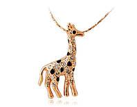 Ожерелье «Жираф» с кристаллами Сваровски, купить в Киеве, Украине