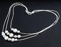 Подвеска «Очарование нежности» с покрытием серебром 925 пробы, купить в Киеве, Украине