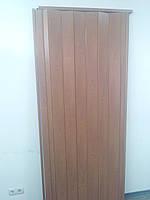 Дверь гармошкой глухая вишня  806  810*2030*6мм