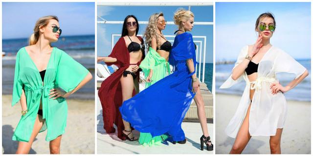 Женские пляжные туники
