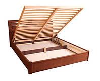 Кровать Мария Микс Мебель двухспальная с подъемным механизмом