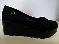 Туфли женские на тракторной подошве 36 размер