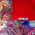 Божественный женский двусторонний палантин из шелка и шерсти 174 на 45 см Eterno ES2707-2-8 разноцвет, фото 2
