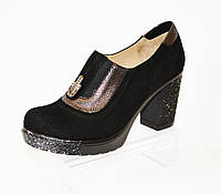 Туфли женские замшевые Guero 133