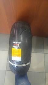 Моторезина 120 70 17 SHINKO F010 APEX RADIAL передняя радиальная 120/70-17 58W TL/F010