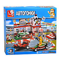 Детский конструктор Мир автоспорта Гран-при Sluban M38-B5500