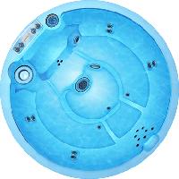 Чаша для бассейна Санторини WaterWorld (стоимость чаши указана для базовой комплектации бассейна)