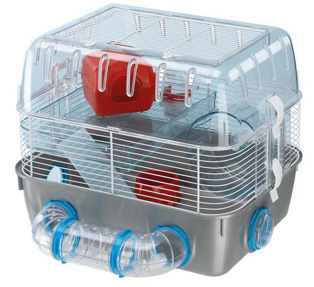 Ferplast COMBI 1 FUN Двухэтажная клетка для хомяков с игровой зоной