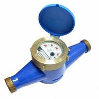 Счётчик холодной воды многоструйный Gross MTK-UA Ду 40 + штуцера