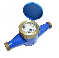 Счётчик холодной воды многоструйный Gross MTK-UA Ду 25 + штуцер