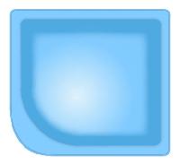 Композитна чаша WaterWorld Купіль (вартість чаші вказана для базової комплектації басейну), фото 1