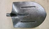 Лопата штикова універсальна (американка) з рейкової сталі Матік, фото 4