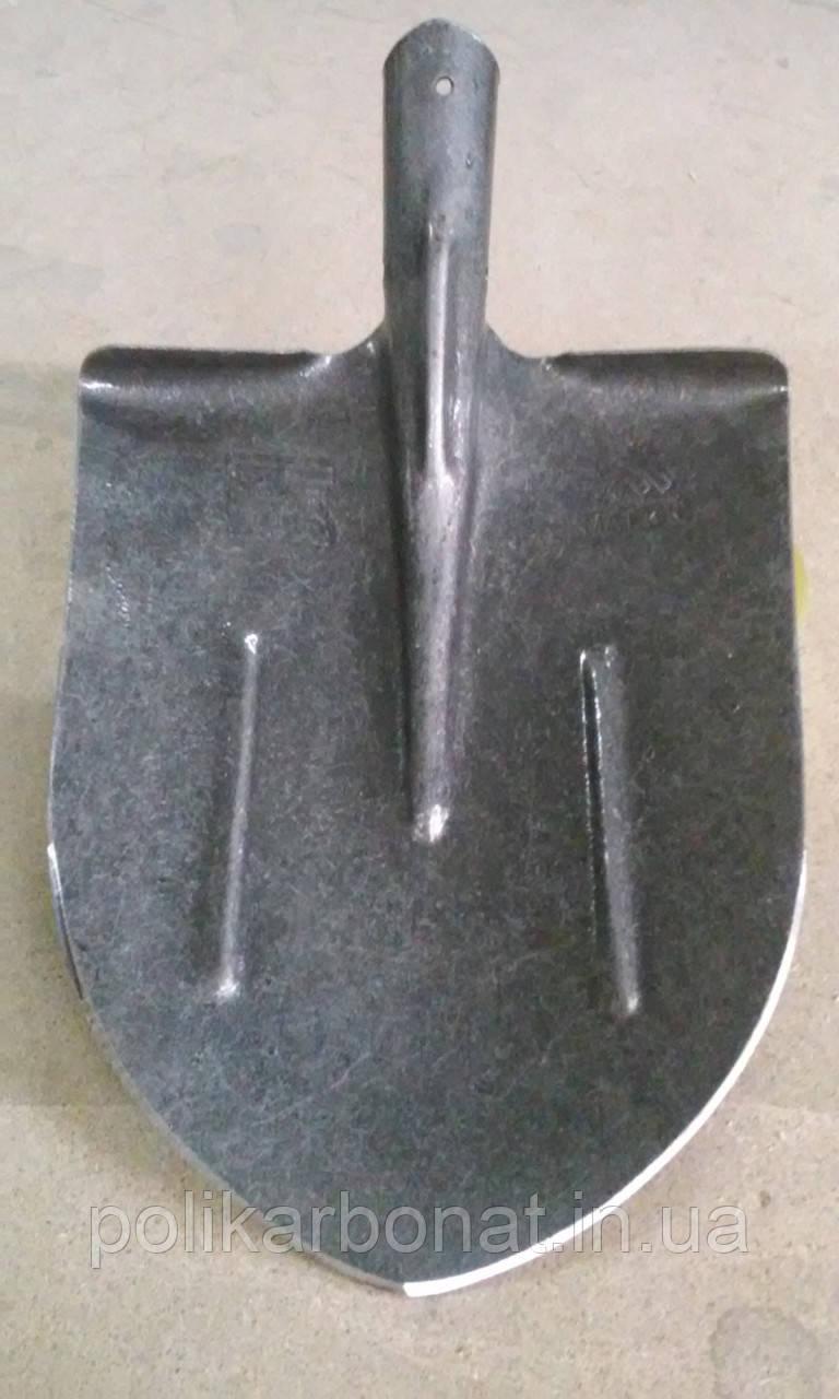 Лопата штикова універсальна (американка) з рейкової сталі Матік