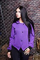 Оригинальная толстовка с капюшоном Эмми фиолетовый 46-50 размеры