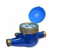 Счетчик холодной воды (водомер, водосчетчик) многоструйный Gross MTK-UA Ду 15 + штуцера