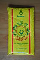 Фасовочный пакет Фаворит желтый 14*26 см