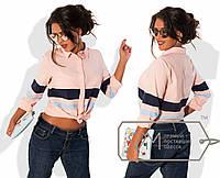 """Стильная женская рубашка """" Полоски """" Dress Code"""