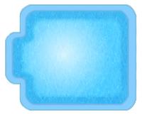 Чаша для бассейна Купель 2 WaterWorld (стоимость чаши указана для базовой комплектации бассейна)