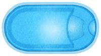 Чаша под бассейн WaterWorld Гурон (стоимость чаши указана для базовой комплектации бассейна)