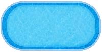 Композитная чаша Ницца WaterWorld (стоимость чаши указана для базовой комплектации бассейна)
