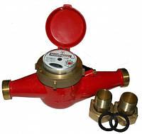 Счётчик горячей воды многоструйный Gross MTW-UA Ду 32 + штуцера