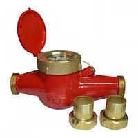 Счётчик горячей воды многоструйный Gross MTW-UA Ду 40 + штуцера