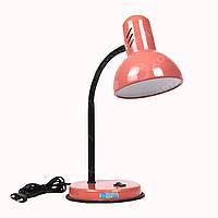 Лампа настольная «Коралл» (нежно-розовый глянцевый лак)