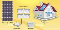 Автономная солнечная электростанция 1,6 кВт