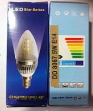 Энергосберегающая лампа DD 8067 5W E14   . dr