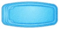 Композитная чаша WaterWorld Баффало (стоимость чаши указана для базовой комплектации бассейна)