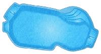 Композитный бассейн WaterWorld Балатон (стоимость чаши указана для базовой комплектации бассейна)