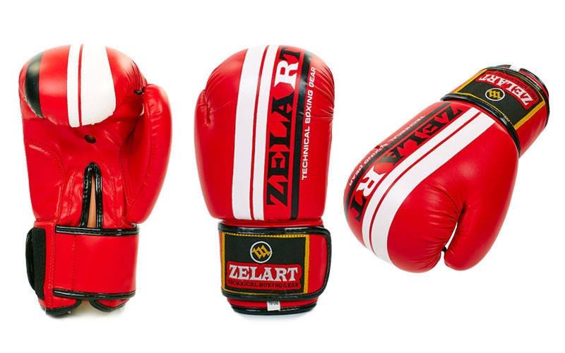Перчатки боксерские FLEX ZB-4275-R