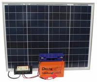 Мини солнечная электростанция 140Вт.