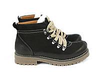Черные зимние ботинки , фото 1