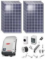 Солнечная сетевая электростанция 1 кВт.