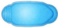 Чаша под бассейн WaterWorld Эльдорадо (стоимость чаши указана для базовой комплектации бассейна)