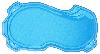 Композитная чаша  WaterWorld Мичиган (стоимость чаши указана для базовой комплектации бассейна)