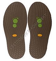 Резиновая подошва/след для обуви BISSELL, т.3,65 мм, art.111, цв. табако
