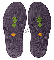 Резиновая подошва/след для обуви BISSELL, т.3,65 мм, art.111, цв. фиолетовый