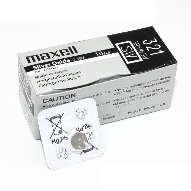 Часовая батарейка Maxell 321/ SR616SW