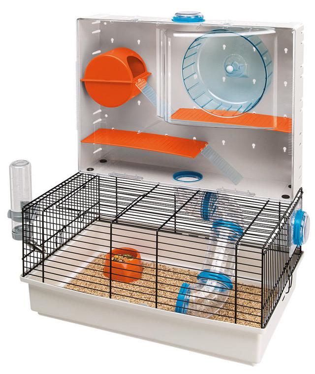 Ferplast OLIMPIA Клетка для хомяков, с игровыми туннелями