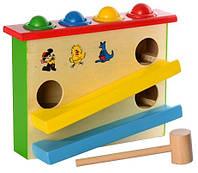 Игра-стучалка с шариками (деревянная)