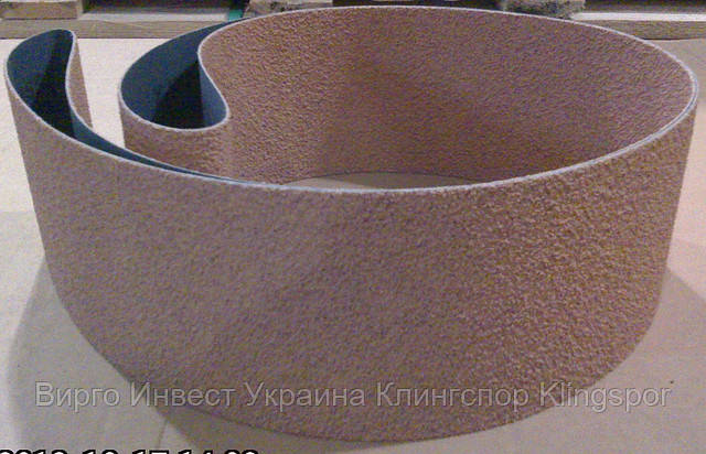 Лента пробковая CS 322 X пробка 100х1830 Klingspor для шлифовки стекла