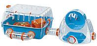 Ferplast COMBI 2 Клетка для хомяков с игровыми туннелями