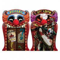 Баннер голограммный Злой клоун 1505-3144