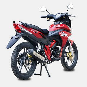 Мотоцикл SPARK SP125R-21, 125 куб.см, двухместный дорожный УЦЕНКА, фото 2