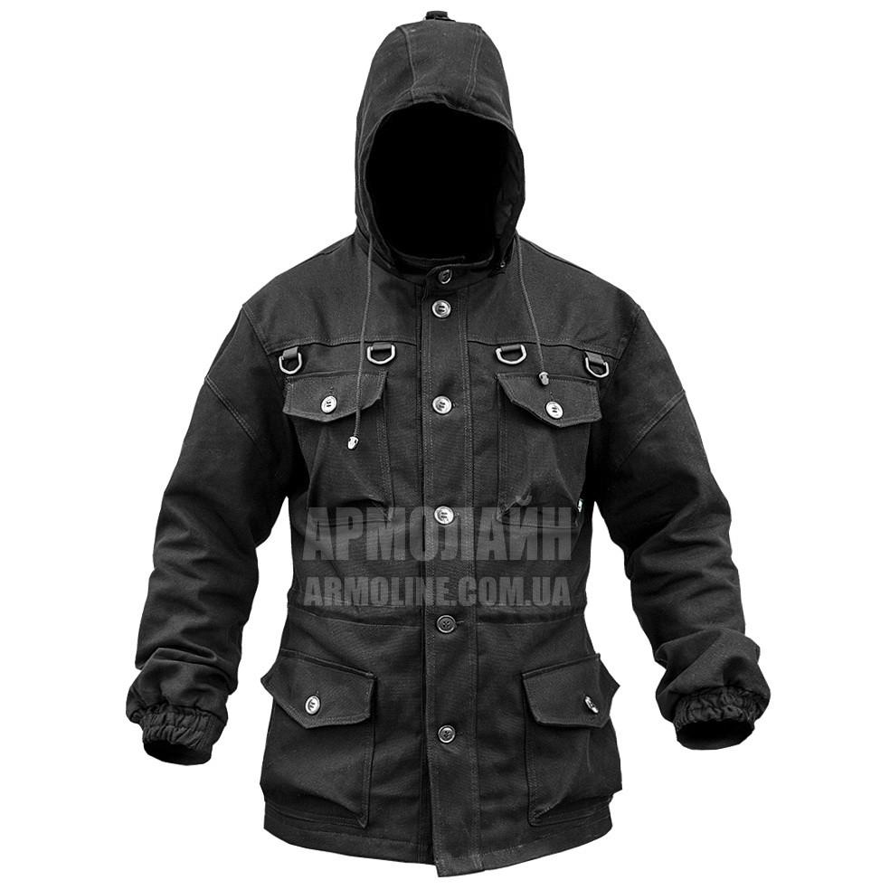 "Куртка полевая ""CТАЛКЕР"" BLACK (ВИДЕО)"