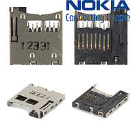 Коннектор карты памяти для Nokia 6131 / 6151 / 6233, оригинал